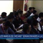 """Chiclayo: """"Los marcas de Chocano"""" serían enviados a la cárcel"""