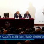 Martín Vizcarra insiste en destitución de miembros del CNM