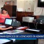 Trujillo: Norman ejercicio de licenciados en administración