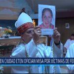 Chiclayo: En Ciudad Eten ofician misa por victimas de feminicidio