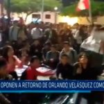 Trujillo: Se oponen a retorno de Orlando Velásquez como docente