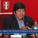 Chiclayo: Fiscal Carrasco dice que Oviedo si conocía de acusaciones en su contra