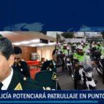 Piura: Policía potenciará patrullaje en puntos críticos