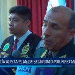 Policía alista plan de seguridad por fiestas patrias