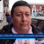 """Paúl Rodríguez: """"Quienes voten por Santa María avalarán una irregularidad"""""""