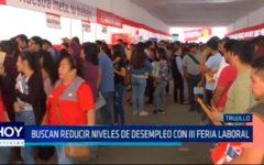 Buscan reducir niveles de desempleo con III Feria Laboral