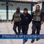 Chiclayo: Extrabajador del Inpe se encontraba requisitoriado