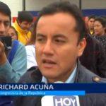 Congresista Acuña se suma a críticas contra el Poder Judicial