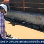 Piura: Riesgos en obra de defensas ribereñas en Huarmaca