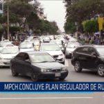 Chiclayo: MPCH concluye plan regulador de rutas