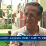 Trujillo: Segundo Llanos habla sobre el papel del periodismo
