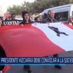 Chiclayo: Presidente Vizcarra debe convocar a la Sociedad Civil