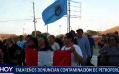 Piura: Talareños denuncian contaminación de PetroPerú