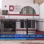 Chiclayo: Lambayecanos pueden presentar tachas contra candidatos
