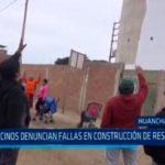 Vecinos denuncian fallas en construcción de reservorio