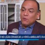 Operativo no logra erradicar la venta ambulante en avenida España