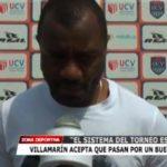 Villamarín acepta que pasan por un buen momento.