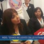 """Chiclayo: MIDIS: """"Seamos inclusivos con los extranjeros"""""""
