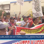 Chiclayo: Jubilados de EAT Pomalca reclaman pagos atrasados