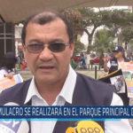 Chiclayo: Simulacro se realizará en el parque principal de Chiclayo