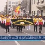 Chiclayo: Juramentan más de mil juntas vecinales en Lambayeque