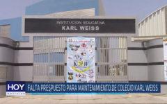 Chiclayo: Falta presupuesto para mantenimiento de colegio Karl Weiss