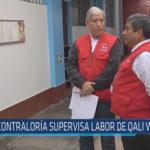 Chiclayo: Contraloría supervisa labor de qali warma