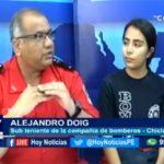 Chiclayo: Entrevistamos al teniente. Alejandro Doig, de la compañía de bomberos #27 de Chiclayo