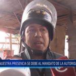 """Chiclayo: """"Nuestra presencia se debe al mandato de la autoridad judicial"""""""