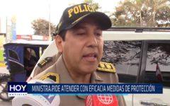 Chiclayo: Ministra pide atender con eficacia medidas de protección