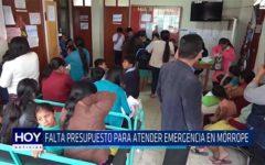 Chiclayo: Falta presupuesto para atender emergencia en Mórrope