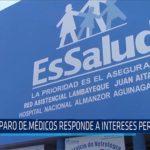 Chiclayo: Paro de médicos responde a intereses personales
