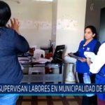 Chiclayo: Supervisan labores en municipalidad de Pátapo