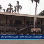Chiclayo: Enfrentamientos en Tumán por reinstalación en azucarera