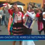 Agazajan danzantes del mundo que participan en festival