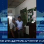 Piura: Alcalde de Canchaque manejaba su vehículo en estado de ebriedad