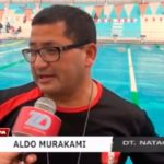 Trujillanos en entrenamiento de selección nacional de natación