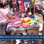 Chiclayo: Ambulantes no serán albergados en local de serenazgo