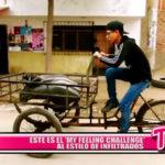 """Local: Este es el My feeling challenge de """"Infiltrados"""""""