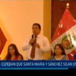 APRA: Esperan que Santa María y Sánchez sigan en carrera