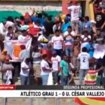 Atlético Grau venció  1 – 0 a Universidad César Vallejo