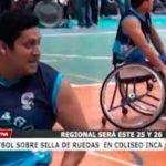 Básquetbol sobre silla de ruedas en Coliseo Inca