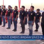 Chiclayo: 80 nuevos bomberos brindaran servicio  en la región