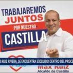 Piura: Candidato a la alcaldía de Castilla, Max Ruiz, queda fuera de competencia.