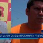 Víctor Larco: Candidatos exponen propuestas
