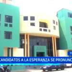 Trujillo: Candidatos al distrito de La Esperanza se pronuncian
