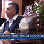Chiclayo: Candidatos no deben contaminar Chiclayo con propaganda
