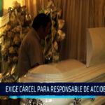 Chimbote: Exige cárcel para responsable de accidente