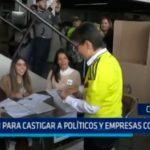 Colombia: Votan para castigar a políticos y empresas corruptas