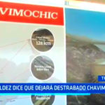 La Libertad: Valdéz dice que dejará resuelto Chavimochic